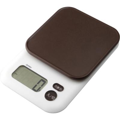デジタルスケール「ガナッシュ」3kg ブラウン
