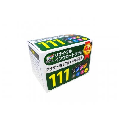 リサイクルインク BROTHER用 4色パック