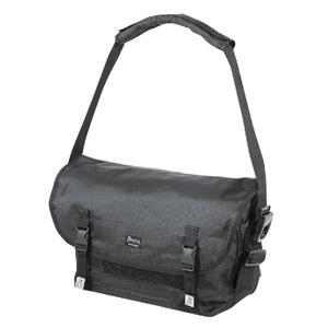 《CAPTAIN STAG》メッセンジャーバッグ ブラック A4サイズ対応