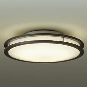 LED小型シーリングライト 明るさFHC28W相当 非調光タイプ 電球色タイプ ダークブラウン 4955620627402