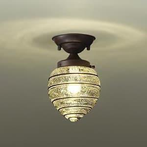 LED小型シーリングライト ランプ付 白熱灯60W相当 非調光タイプ 4.7W 口金E17 電球色タイプ 4955620617816