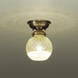 LED小型シーリングライト ランプ付 白熱灯60W相当 非調光タイプ 4.7W 口金E17 電球色タイプ 4955620618264