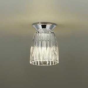 LED小型シーリングライト ランプ付 白熱灯60W相当 非調光タイプ 4.7W 口金E17 電球色タイプ 4955620629727