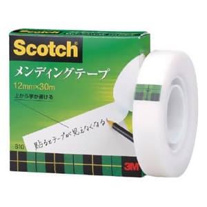 《スコッチ》 メンディングテープ 12mm×30m