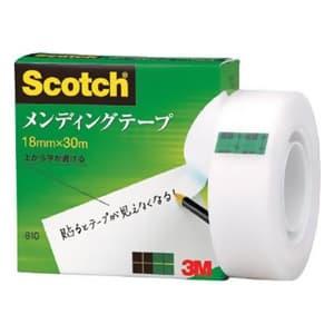 《スコッチ》 メンディングテープ 18mm×30m