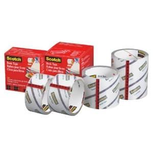 《スコッチ》 透明ブックテープ 厚手タイプ 38.1mm×13.7m