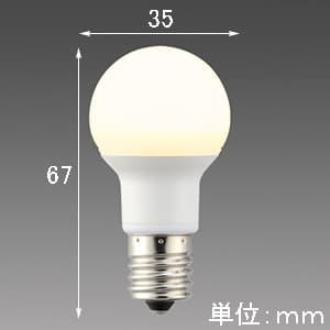 LED電球 《MILIE ミライエ》 全方向タイプ 小形電球形 40W形相当 全光束480lm 昼白色 E17口金 画像2