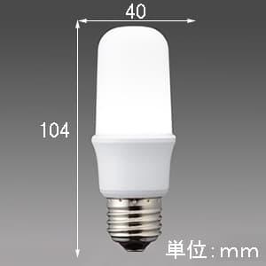 LED電球 《MILIE ミライエ》 T形全方向タイプ 一般電球形 60W形相当 全光束810lm 電球色 E26口金 画像2