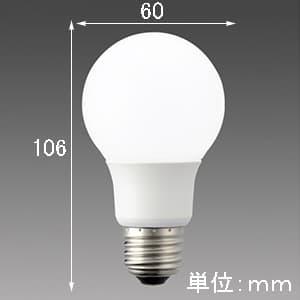 【ケース販売特価 10個セット】LED電球 《MILIE ミライエ》 全方向タイプ 一般電球形 60W形相当 全光束810lm 昼白色 E26口金 画像2
