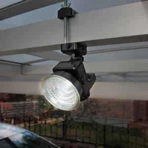 フリーアーム式LEDセンサーライト 防雨型 ソーラー式タイプ 天井取付可 1.3W×1灯 110lm 白熱球15W相当 画像2