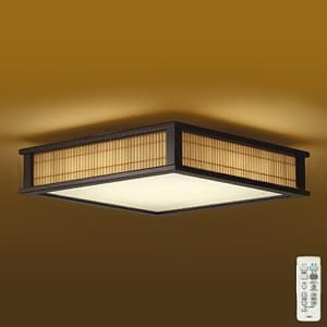 LED和風シーリングライト 〜8畳 調色・調光タイプ(昼光色〜電球色) クイック取付式 リモコン・プルレススイッチ付 4955620630594