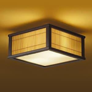 LED和風シーリングライト 電球色 非調光タイプ E26口金 白熱灯60W×2灯タイプ 端子台木ネジ取付方式