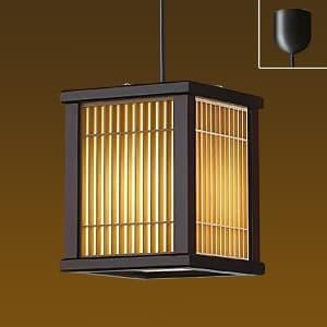 LED和風小型ペンダントライト 電球色 非調光タイプ E17口金 白熱灯60Wタイプ 引掛シーリング取付式
