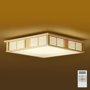 LED和風シーリングライト 〜14畳 調色・調光タイプ(昼光色〜電球色) クイック取付式 リモコン・プルレススイッチ付 4955620629949