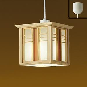 LED和風小型ペンダントライト 電球色 非調光タイプ E26口金 白熱灯60Wタイプ 引掛シーリング取付式