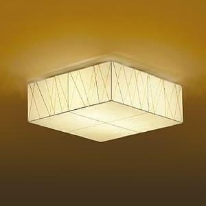LED和風シーリングライト 電球色 非調光タイプ E26口金 白熱灯60W×2灯タイプ 端子台木ネジ取付方式 4955620588420