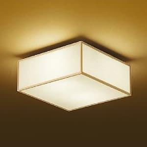 LED和風シーリングライト 電球色 非調光タイプ E26口金 白熱灯60W×2灯タイプ 端子台木ネジ取付方式 4955620588352