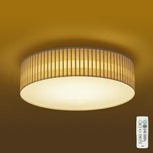 LED和風シーリングライト 〜8畳 調色・調光タイプ(昼光色〜電球色) 引掛シーリング取付式 リモコン・プルレススイッチ付 4955620629987