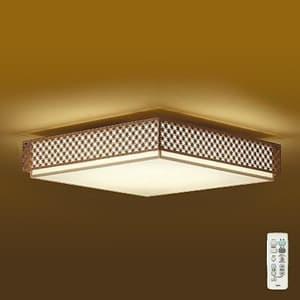 LED和風シーリングライト 〜8畳 調色・調光タイプ(昼光色〜電球色) クイック取付式 リモコン・プルレススイッチ付 4955620629772