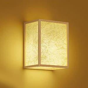 LED和風ブラケットライト 電球色 非調光タイプ E26口金 白熱灯60Wタイプ 壁面取付専用