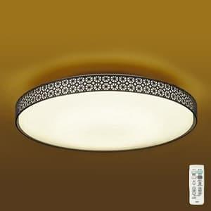 LED和風シーリングライト 〜6畳 調色・調光タイプ(昼光色〜電球色) クイック取付式 リモコン・プルレススイッチ付 4955620618103