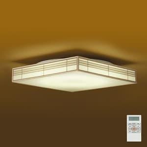 LED和風シーリングライト 〜14畳 調色・調光タイプ(昼光色〜電球色) クイック取付式 リモコン・プルレススイッチ付 4955620617045