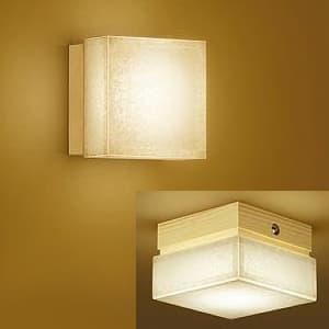 LED和風ブラケットライト 電球色 調光可能 白熱灯60Wタイプ 天井・壁面取付兼用