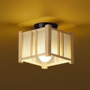 LED和風ブラケットライト 電球色 非調光タイプ E26口金 白熱灯60Wタイプ 天井取付専用