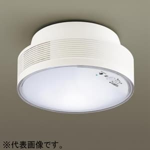 LED小型シーリングライト ナノイー搭載 引掛シーリング取付型 トイレ用 拡散タイプ 10.3W 白熱球60W形器具1灯相当 電球色 FreePa機能付