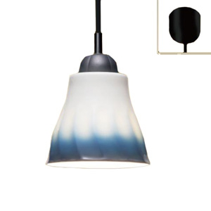 有田焼LEDペンダントライト 7.8W 810lm LDA電球60W形相当まで×1 電球色 青グラデーション柄