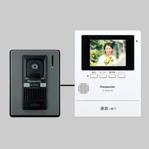 テレビドアホン 3.5型ワイドカラー 電源コード式 録画機能搭載