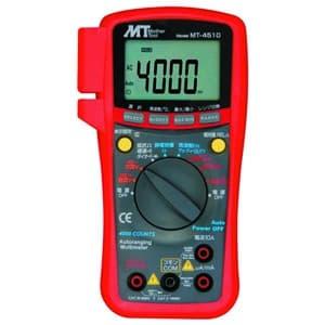デジタルマルチメータ 直流・交流電圧/直流・交流電流/抵抗/静電容量/周波数/デューティー比