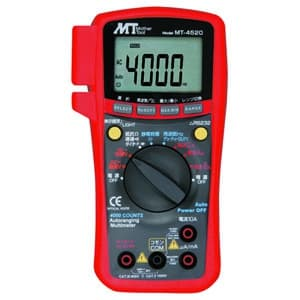 PC対応デジタルマルチメータ 直流・交流電圧/直流・交流電流/抵抗/静電容量/周波数/デューティー比