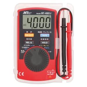 カード型オールインワンデジタルマルチメータ 直流・交流電圧/抵抗/静電容量/周波数/デューティー比