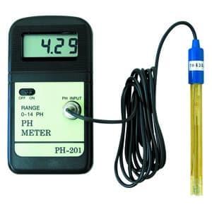 デジタルPHメータ ガラス電極式 pH07基準液50ml付属