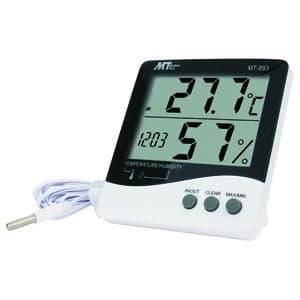 デジタルデカ文字温湿度計 コンフォート表示・IN/OUT機能・アラーム機能付