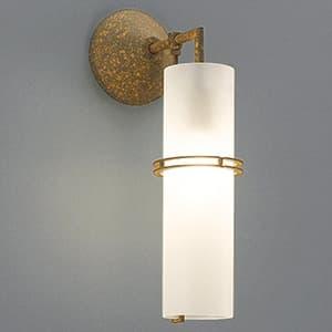 LEDランプ交換型ブラケットライト 非調光 白熱40W相当 電球色 E17口金 ランプ付