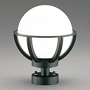 LEDランプ交換型ガーデンライト 防雨型 白熱60W相当 電球色 E26口金 ランプ付