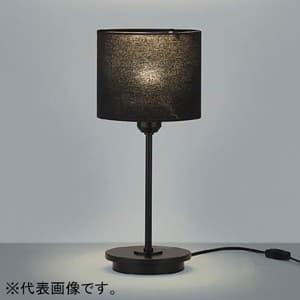 テーブルスタンドライト本体 LEDランプ交換可能型 ON・OFFタイプ 6.0W 白熱球40W相当 口金E17 電球色 鋼/黒色塗装