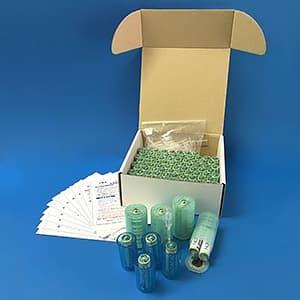 水電池災害備蓄用セット 単3形 100本入 単1形・単2形サイズ変換アダプター×各4個付