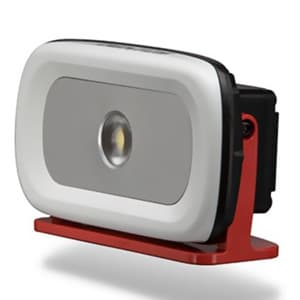 LED投光器 《GANZ》 充電式タイプ COBLED×1灯 10W 650〜1300lm W194×H108×D59mm 電源ケーブル付