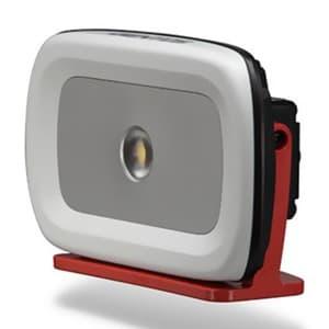 LED投光器 《GANZ》 充電式タイプ COBLED×1灯 20W 800〜2300lm W223×H138×D65mm 電源ケーブル付