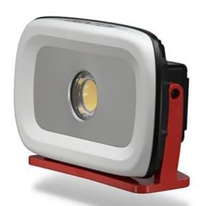 LED投光器 《GANZ》 充電式タイプ COBLED×1灯 35W 1300〜4200lm W267×H165×D75mm AC電源ケーブル付