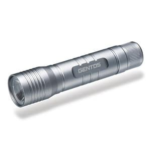 LEDライト 防塵・防滴タイプ 白色LED×1灯 55lm φ23.0×103.4mm 単3形アルカリ電池×1本付