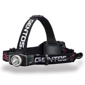LEDヘッドライト 耐塵・耐水タイプ 白色LED×1灯 250lm W79.7×H34.5×D31.9mm 単4形アルカリ電池×4本付