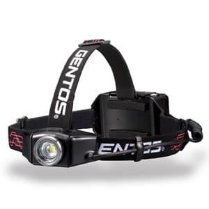 LEDヘッドライト 充電式 耐塵・耐水タイプ 白色LED×1灯 500lm W89.6×H40.4×D42.2mm USBケーブル付