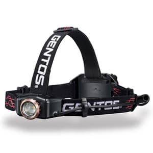 LEDヘッドライト 充電式 明暗ライトセンサー搭載 耐塵・耐水タイプ 白色LED×1灯 300lm W79.7×H34.5×D31.9mm USBケーブル付