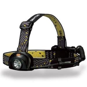 LEDヘッドライト 《ヘッドウォーズ》 防滴タイプ 白色LED×1灯 230lm W56×H50×D28mm 単3形アルカリ電池×3本付