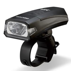 LEDバイクライト ナロータイプ 防滴仕様 白色LED×1灯 110lm W98.0×H26.0×D38.3mm 単3形アルカリ電池×2本付