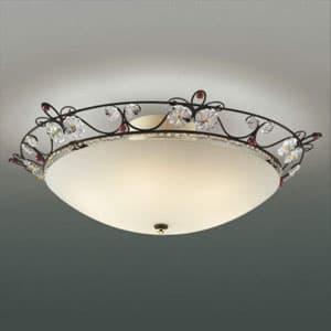 LEDシーリングライト 《グラナータ》 〜4.5畳用 LEDランプ交換可能型 電球色 5.8W×6灯 口金E17 取付簡易型 4906460513967